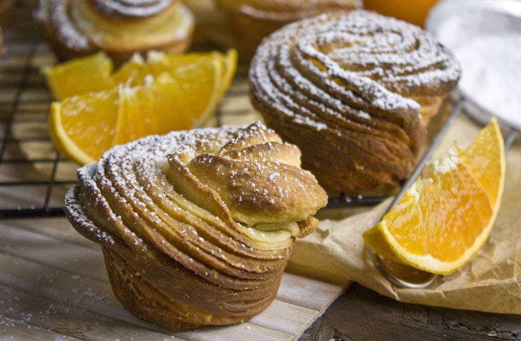 Orangen-Vanille-Cruffins [Frankenfood] | Toastenstein