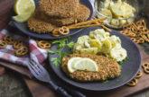Salzstangen-Schnitzel aus Seitan [Frankenfood]