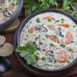 Kohlrabi-Schnitzel mit Kräuter-Aioli