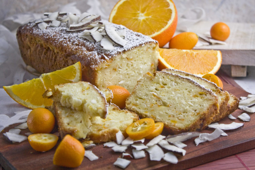 Sommerkuchen! - Kokos-Kumquats-Kuchen | Toastenstein