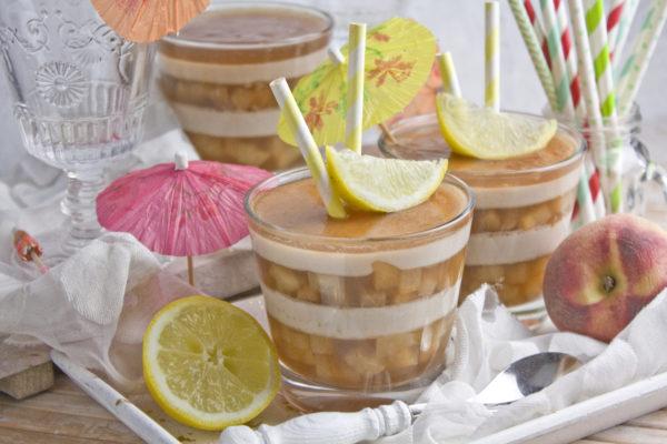 Erfrischendes Pfirsich-Eistee-Gelee | Frankenfood | Toastenstein