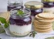 Blaubeer-Orangen-Cheesecake im Glas | Toastenstein