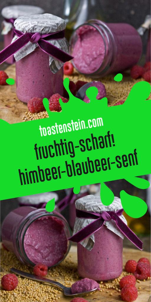 Himbeer-Blaubeer-Senf – DIY Senferei!