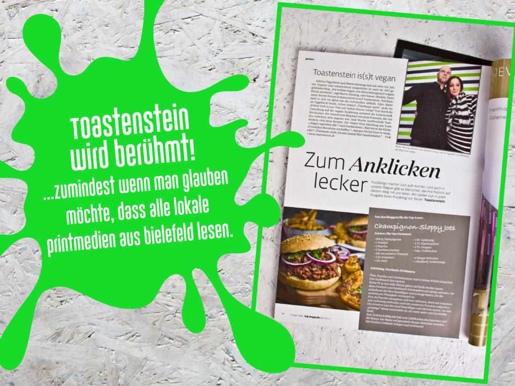 Geburtstagsrückblick – Top Magazin Bielefeld – Toastenstein