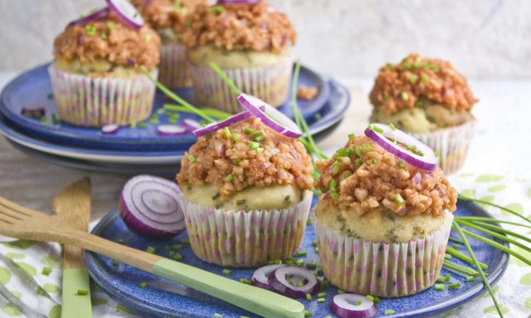 Vegane Mettbrötchen-Muffins | Toastenstein