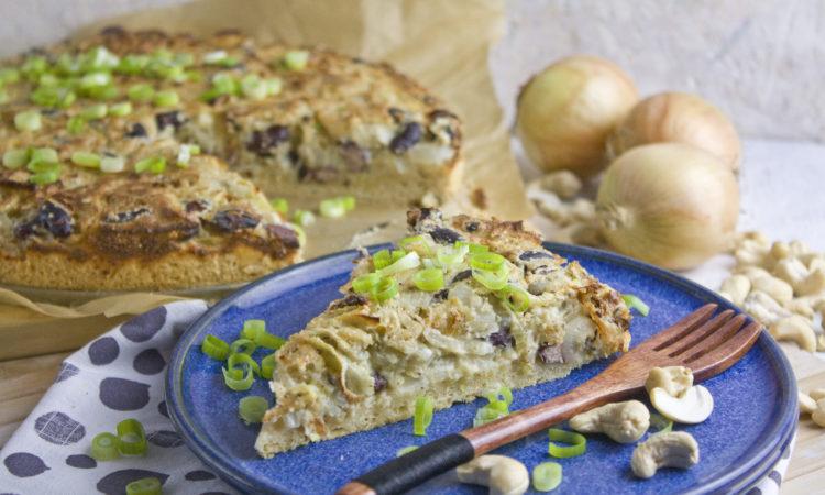 Fenchel-Zwiebel-Kuchen mit Kidney-Bohnen | Toastenstein