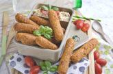 Linsen-Polenta-Sticks aus dem Ofen