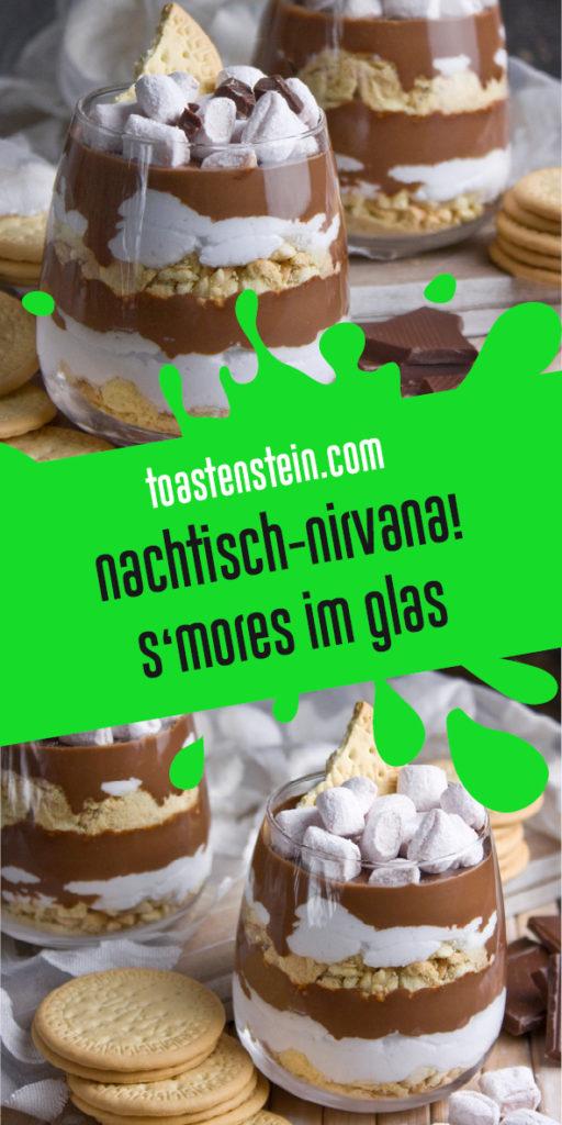 S'Mores im Glas – Nachtisch-Nirvana! | Toastenstein