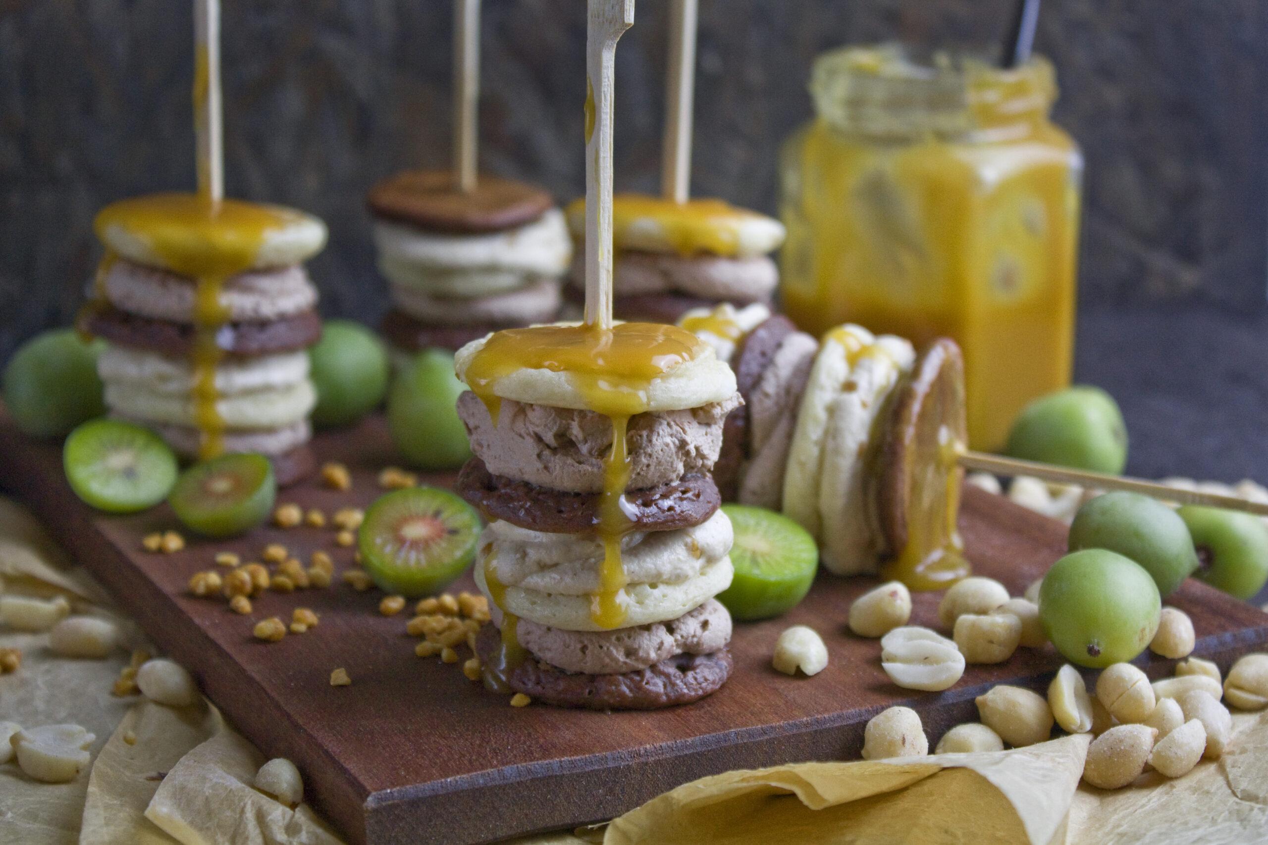 Snickers-Pancake-Spieße | Toastenstein