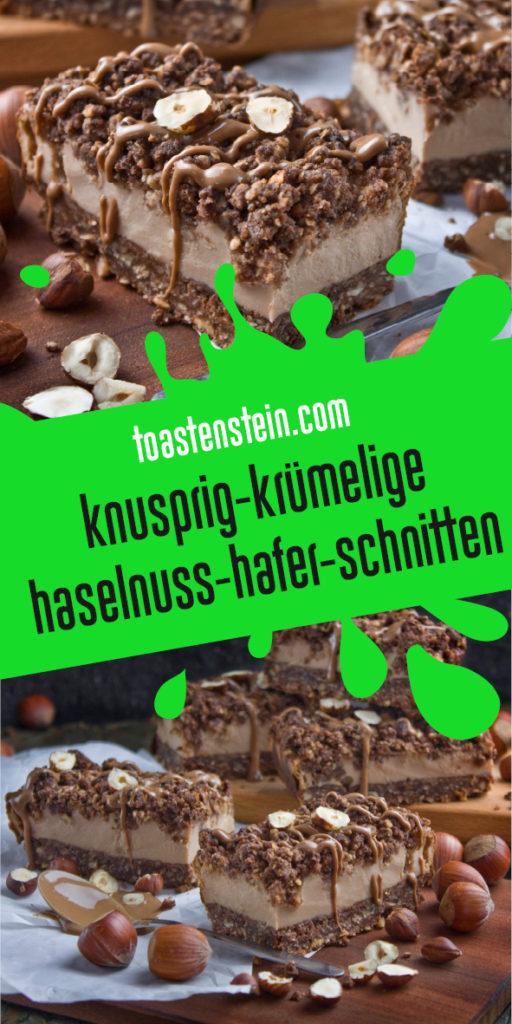 Haselnuss-Hafer-Schnitten | Toastenstein