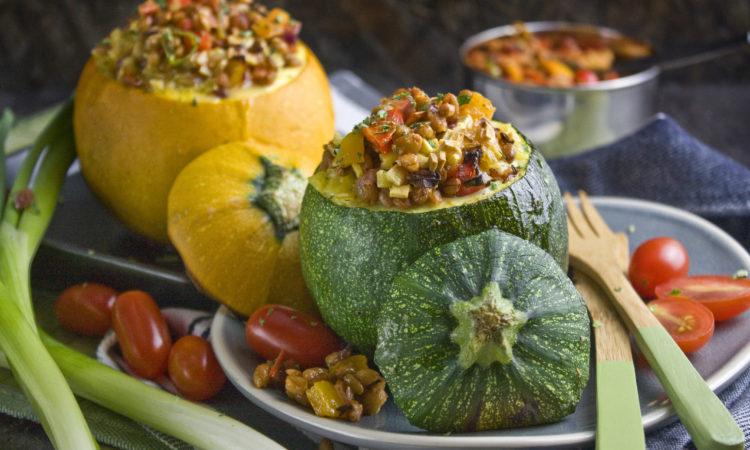 Gefüllte Dinkel-Zucchini | Toastenstein
