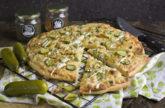 Knoblauch-Gurken-Pizza [Frankenfood]