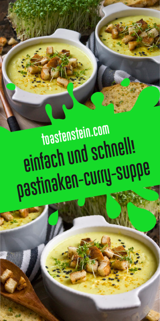 Pastinaken-Curry-Suppe