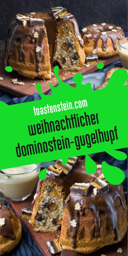 Weihnachtlicher Dominostein-Gugelhupf | Toastenstein
