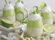 Limetten-Chia-Parfrait mit Matcha-Creme | Toastenstein