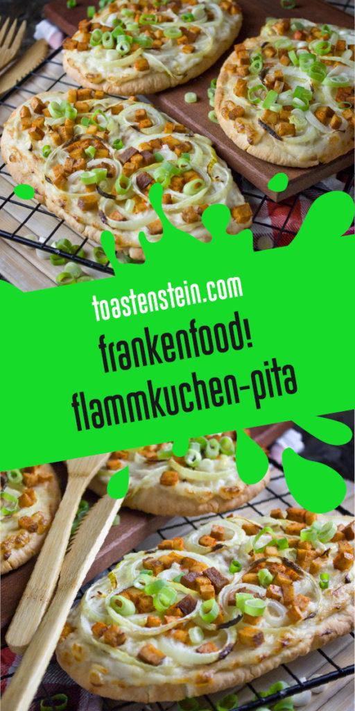 Rustikale Flammkuchen-Pitas [Frankenfoods] | Toastenstein