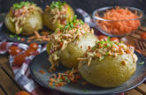 Farmersalat-Ofenkartoffel – Simpel aber gut!