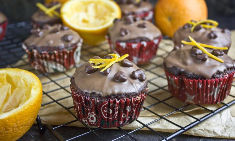 Schoko-Orangen-Muffins mit Banane | Toastenstein