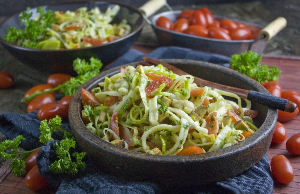 Spätzle-Lauch-Salat | Toastenstein