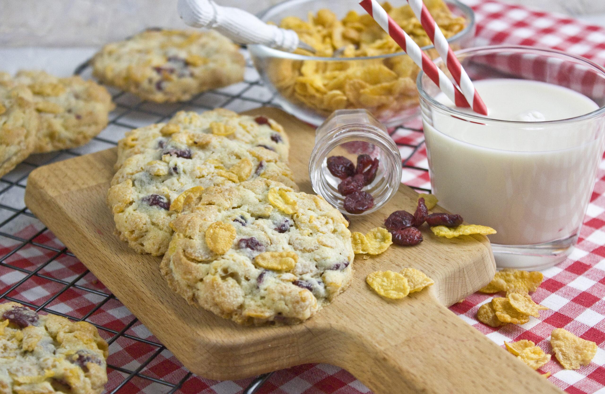 Cornflakes-Cranberry-Cookies | Toastenstein