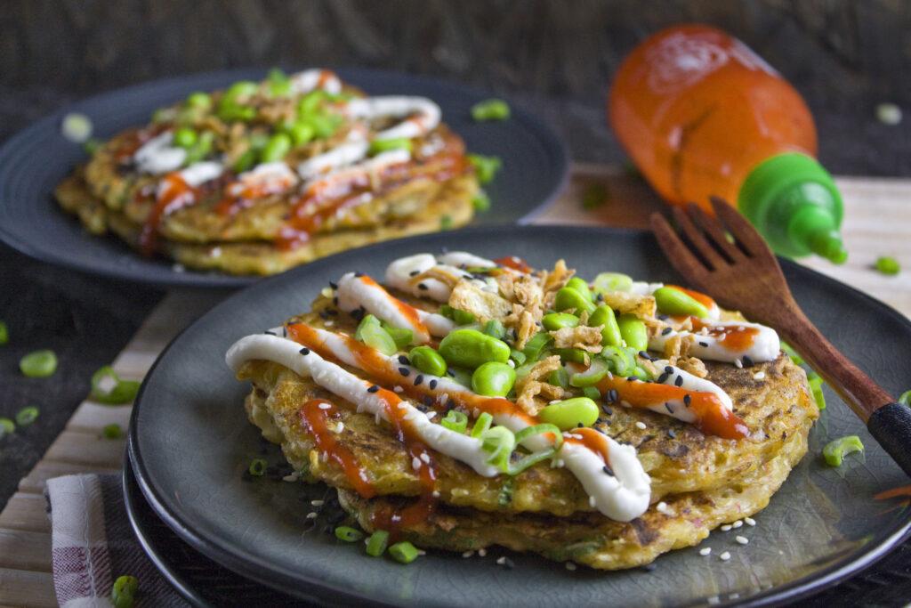Okonomiyaki – Weißkraut-Pfannkuchen | Toastenstein