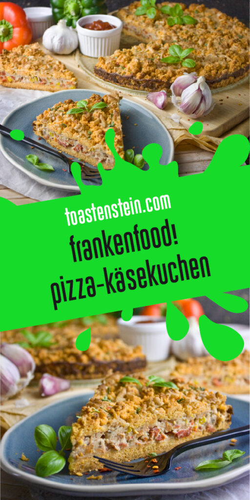 Herzhafter Pizza-Käsekuchen | Toastenstein