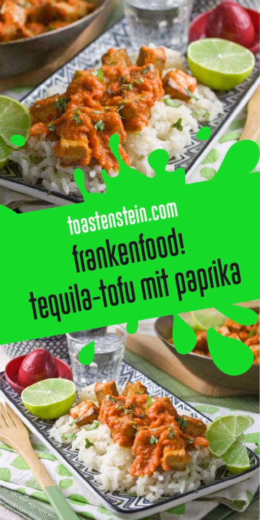 Tequila-Tofu mit Limettensaft   Toastenstein