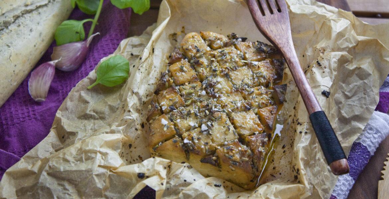 Gebackener Lavendel-Tofu   Toastenstein