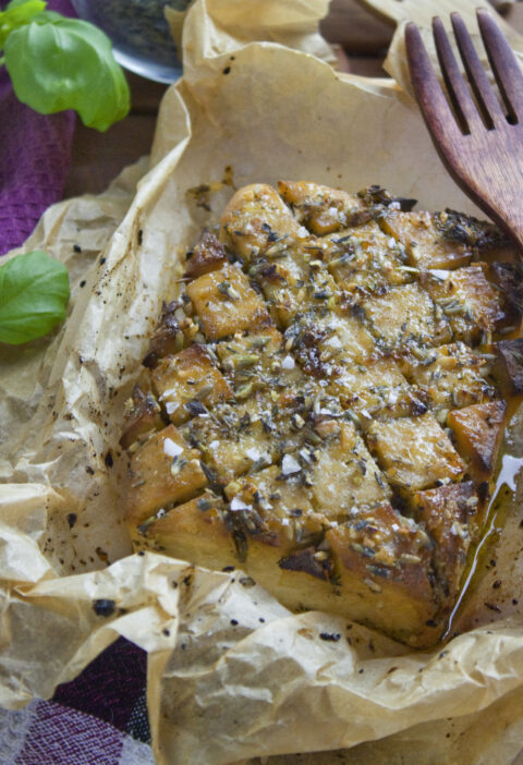 Gebackener Lavendel-Tofu | Toastenstein