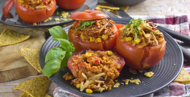 Gefüllte Nacho-Tomaten   Toastenstein