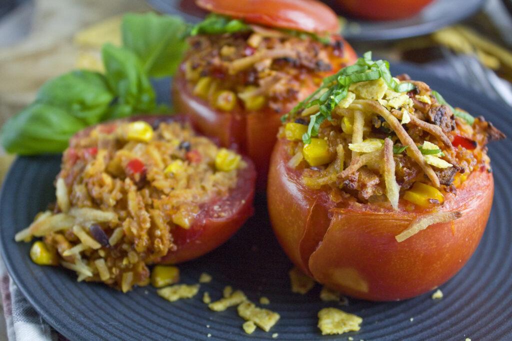 Gefüllte Nacho-Tomaten | Toastenstein