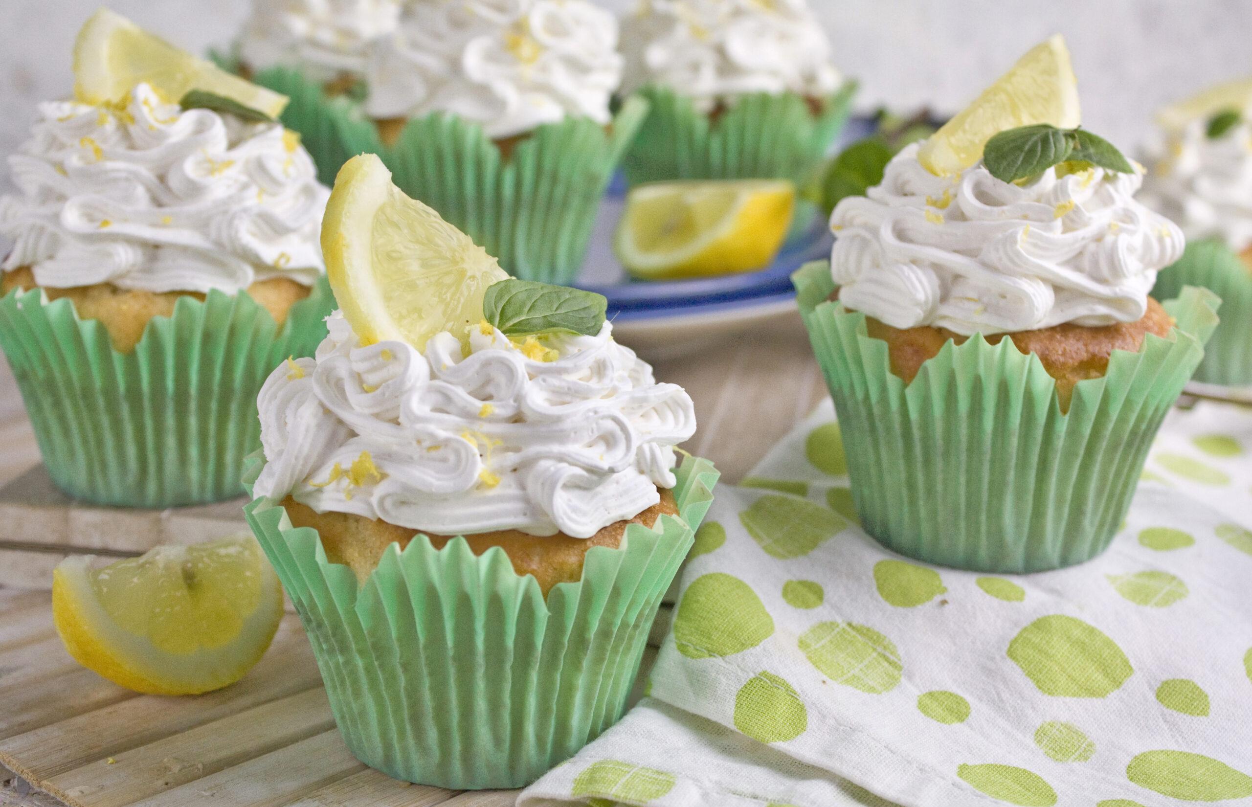Zitronen-Mascarpone-Cupcakes | Toastenstein