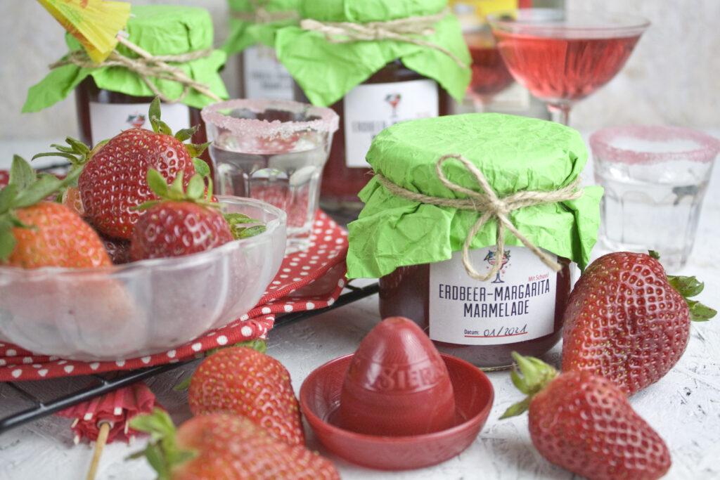 Erdbeer-Margarita-Marmelade | Toastenstein