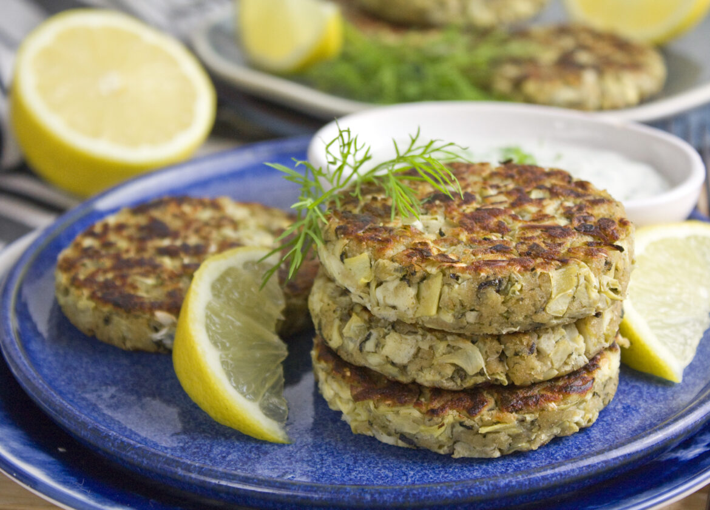 Vegane Fisch-Frikadellen | Toastenstein