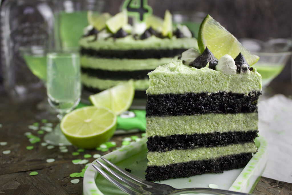 Gurken-Limetten-Torte - Happy Birthday!   Toastenstein