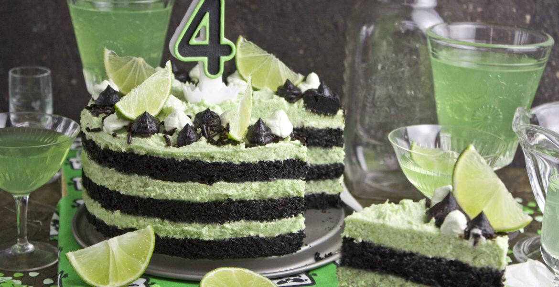 Gurken-Limetten-Torte - Happy Birthday! | Toastenstein