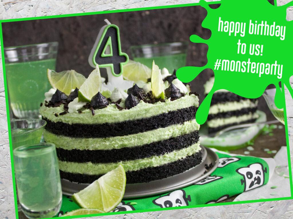 Toastenstein - vierter Geburtstag - Torte