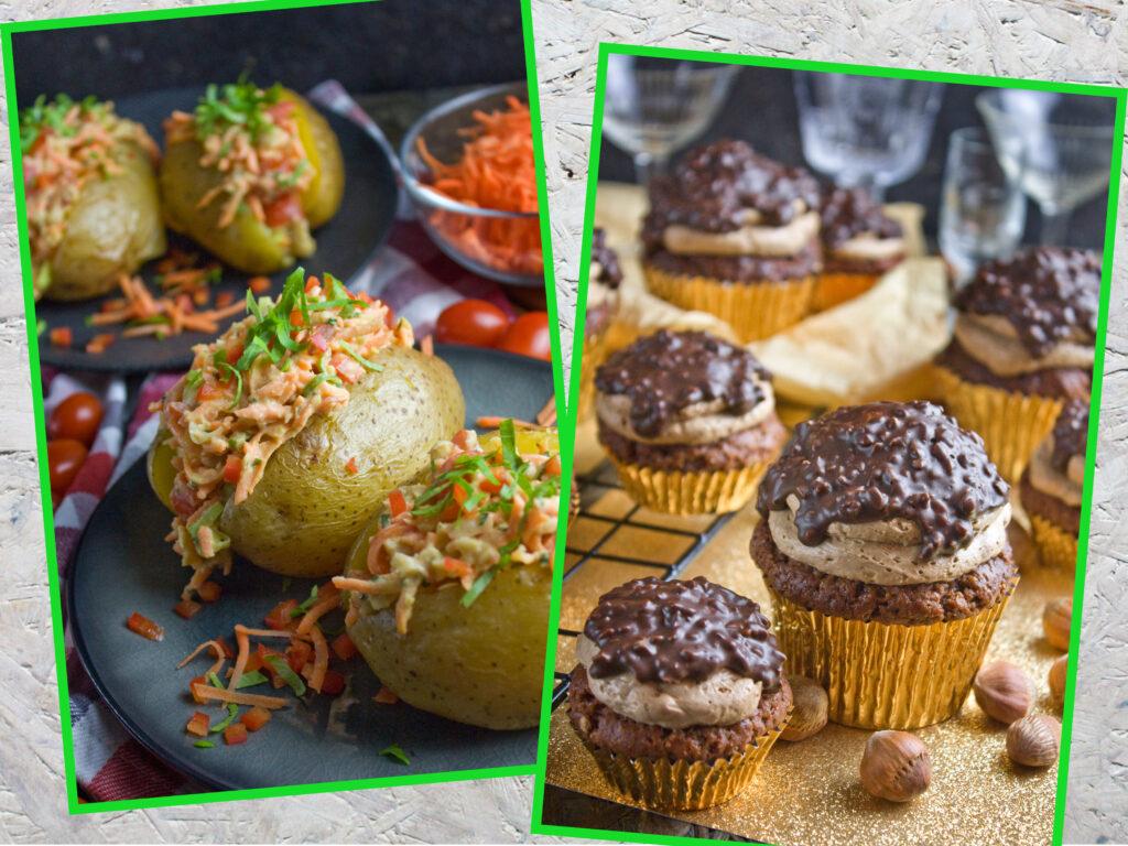 Toastensteins vierter Bloggeburtstag - Ofenkartoffel -Cupcakes
