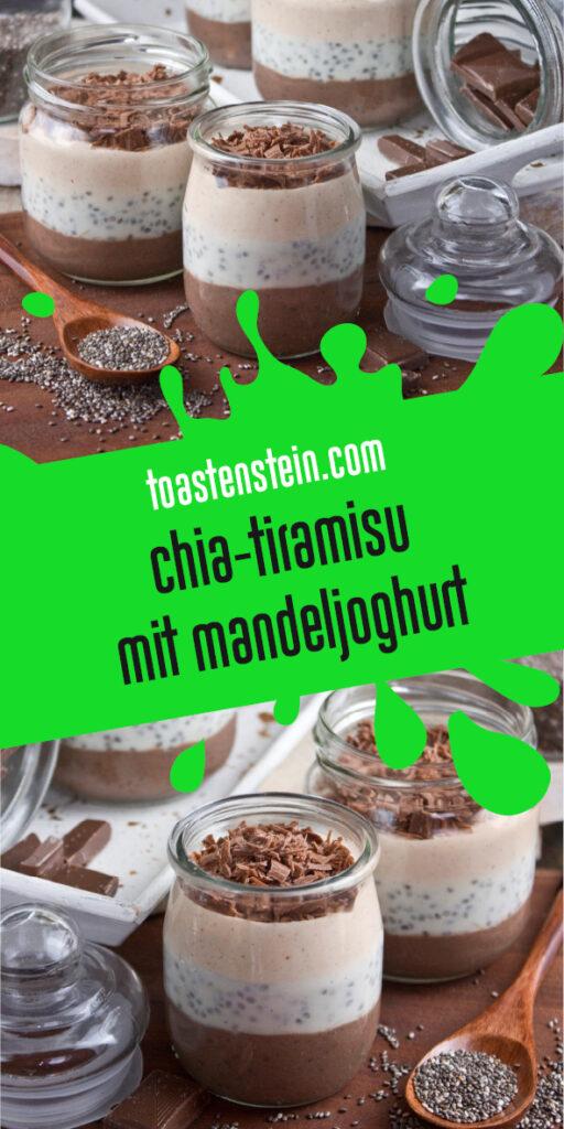 Chia-Tiramisu mit Mandeljoghurt