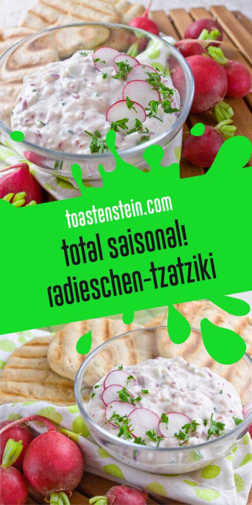 Radieschen-Tzatziki