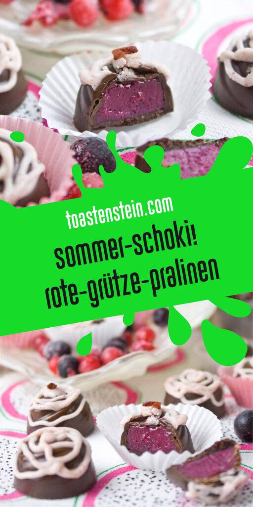 Rote-Grütze-Pralinen | Toastenstein