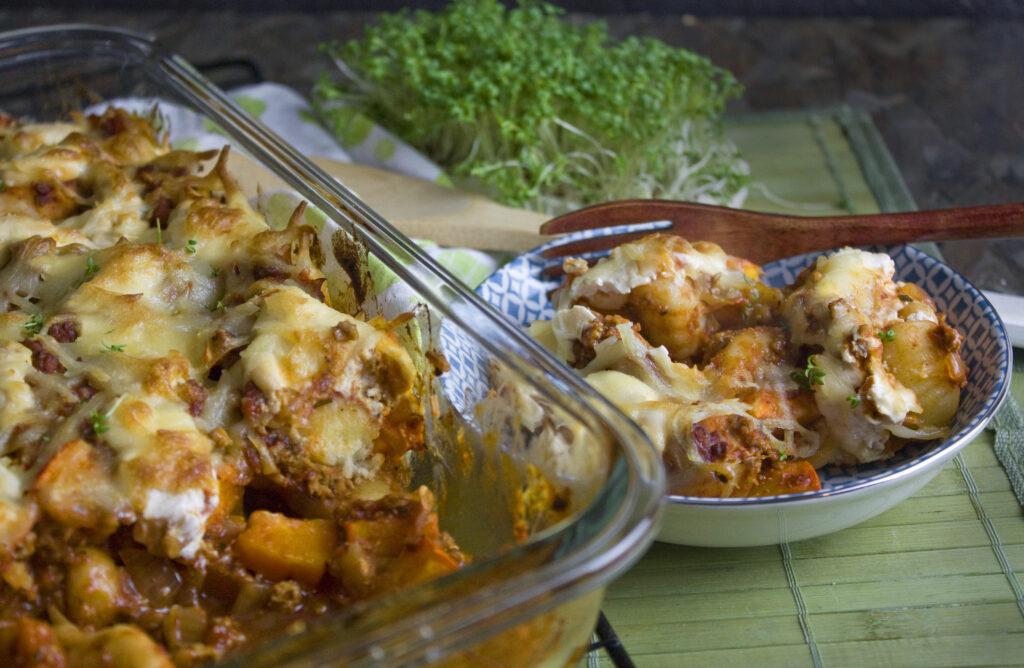 Gnocchi-Kürbis-Auflauf – Total saisonal!   Toastenstein