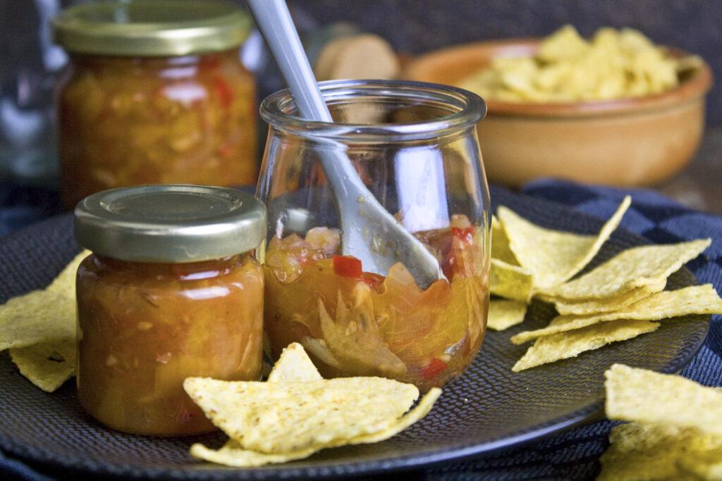 Nektarinen-Tomaten-Chutney | Toastenstein