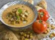 Mediterrane Knoblauch-Mandel-Suppe