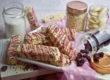 Quinoa-Cranberry-Riegel mit weißer Schokolade