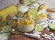 Pina-Colada-Milchreis mit frischer Ananas