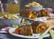 Gerollte Paprika-Steaks vom Grill